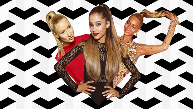 How To: Do A High Ponytail Like Iggy, Ariana, Beyonce And More