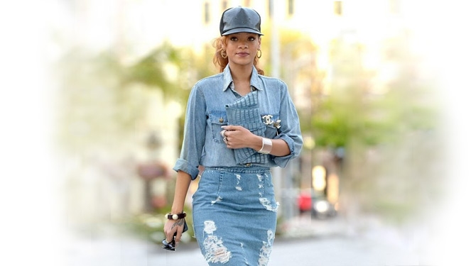 THE DOUBLE-DENIM TREND IS CALLED A 'CANADIAN TUX'
