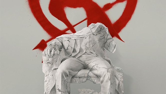 The New Mockingjay Poster Says It All