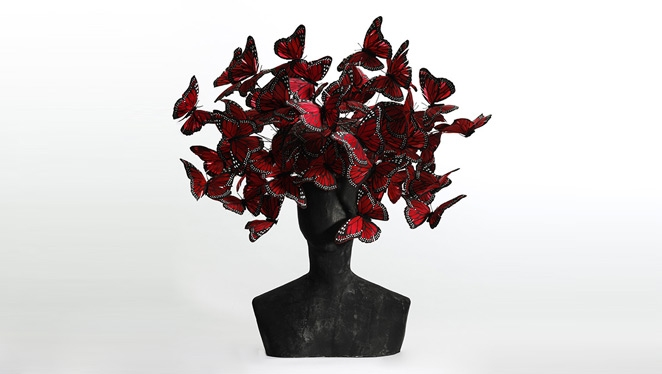 Inside A Wonderland Of Mcqueen X Treacy Hats