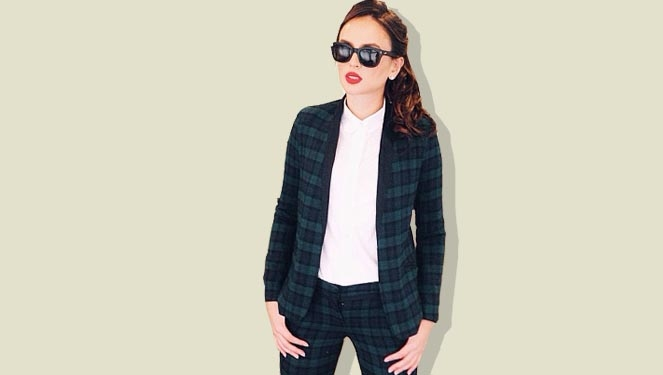 8 Great Blazers In Georgina's Closet