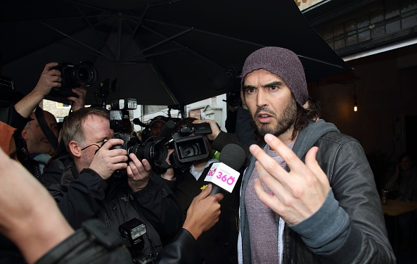 Russell Brand Sold Unethical Sweatshirts