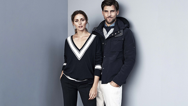 Couple Peg: Olivia Palermo And Johannes Huebl In Tommy Hilfiger