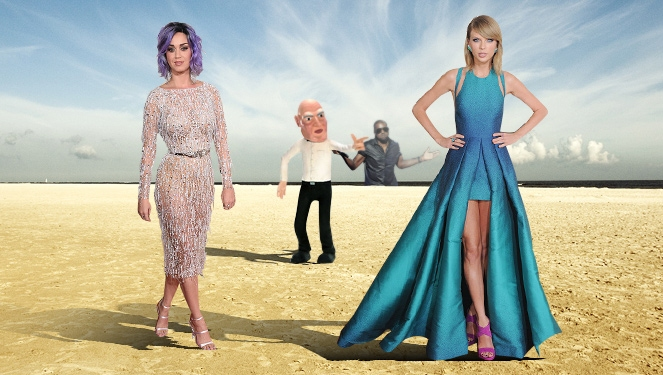 Team Taylor Vs. Team Katy