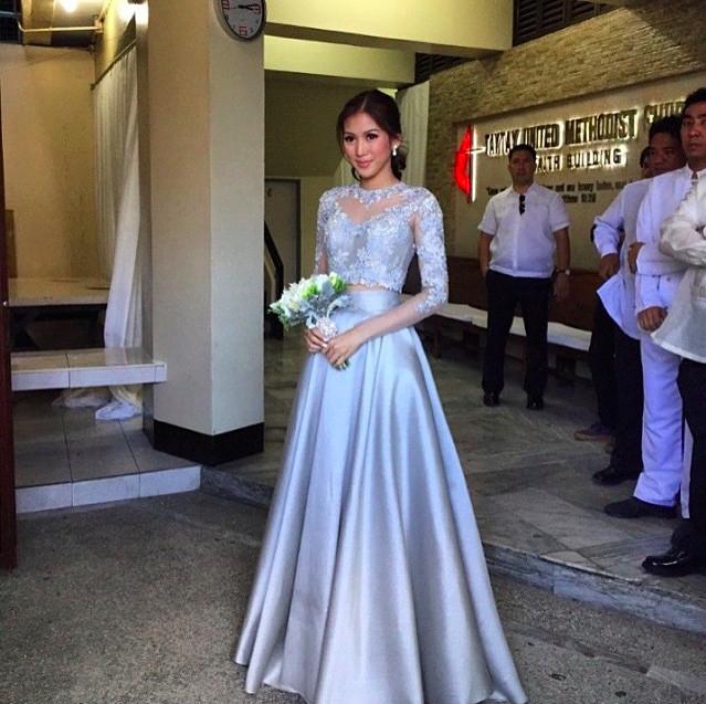 Rajo Laurel Wedding Gowns: Paul Soriano And Toni Gonzaga's Wedding