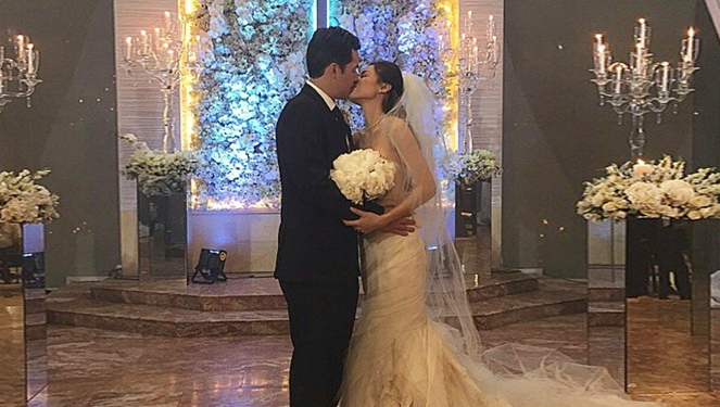 Toni Gonzaga Ties The Knot With Paul Soriano