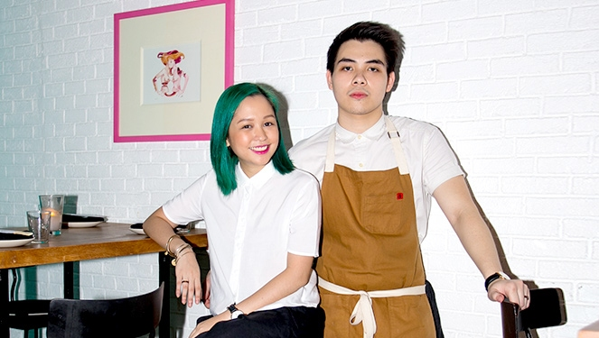 Amid Art On The Walls, Young Couple Makes Prettiest Plates Of Food In Town