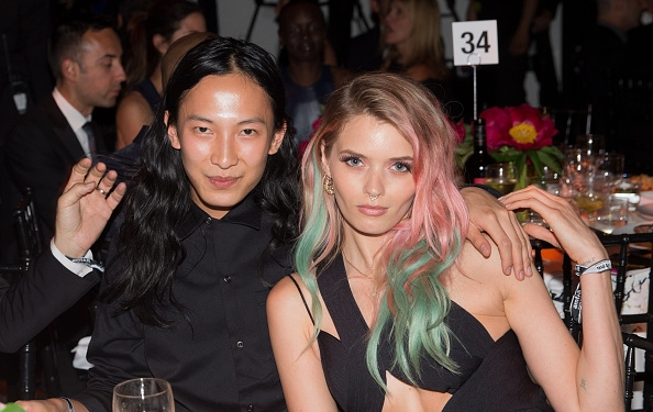 Abbey Lee's Pastel Hair Is Still On Point