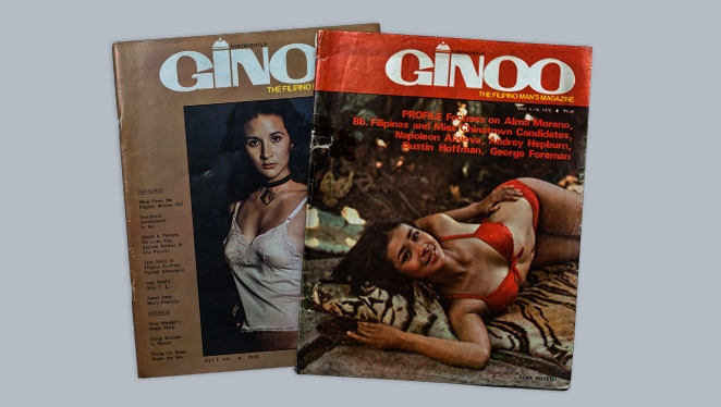 Alma Moreno and Gloria Diaz Showed Some Skin in This Vintage Magazine