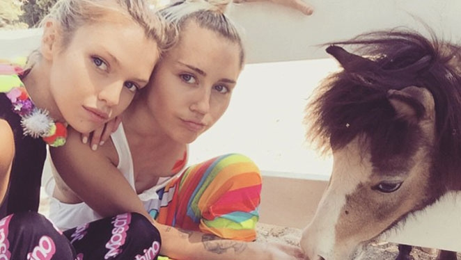 Is Miley Dating a Victoria's Secret Angel?
