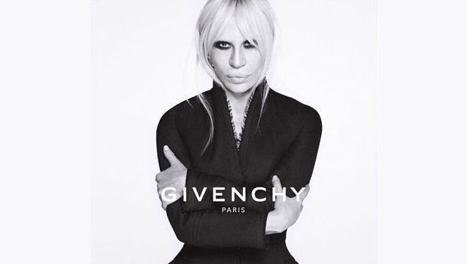The Weird Subtext In Donatella's Ad For Givenchy