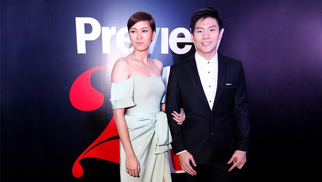 Mika Reyes Arrived At The Preview Ball With Jeron Teng
