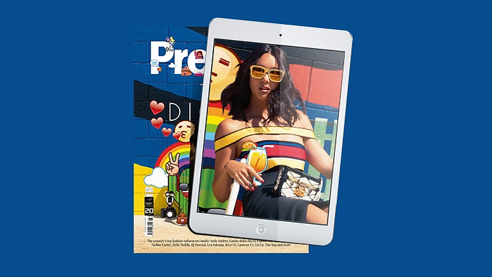 Kim Jones, Nicole Warne, and a Whole Bunch of Emojis Are on the Cover of Preview Magazine