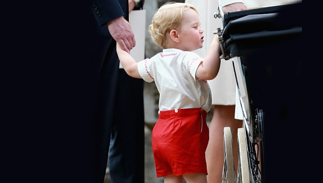 Prince George's Outfit is Selling Like Hotcakes