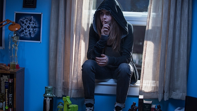 Shhh, Cara Delevingne Pulled This Prank on the Set of 'Paper Towns'