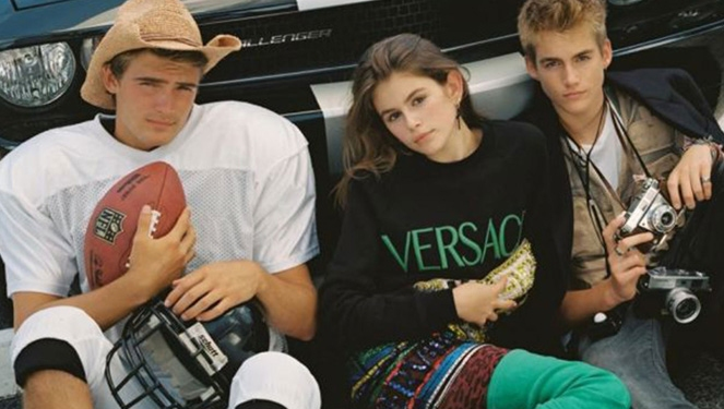 Cindy Crawford's Kids in CR Fashion Book