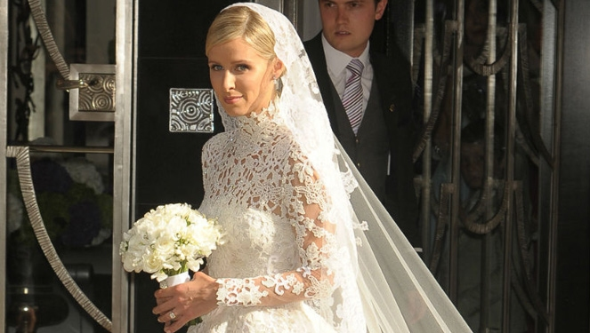 Nicky Hilton's $70k Valentino Wedding Gown