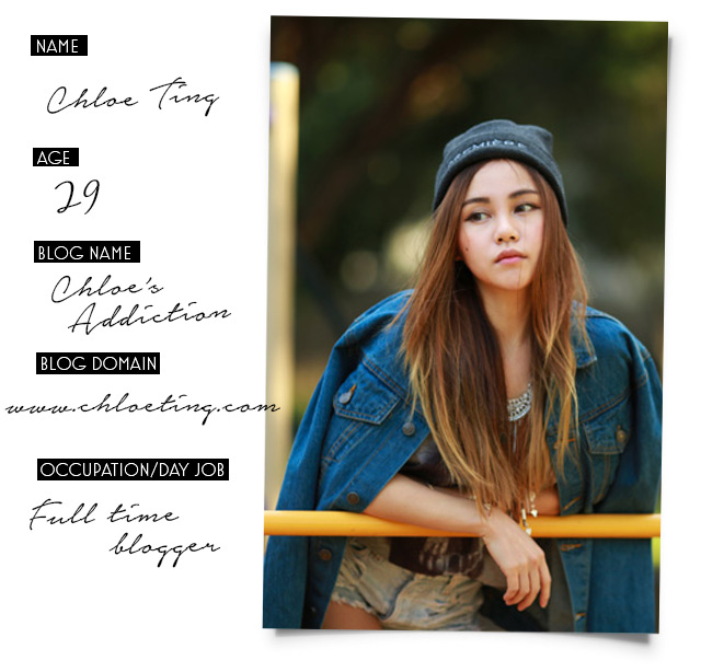 BLOGGER SLAM BOOK: Chloe Ting (Chloe's Addiction)  BLOGGER SLAM BO...