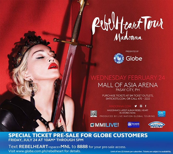 Madonna in Manila
