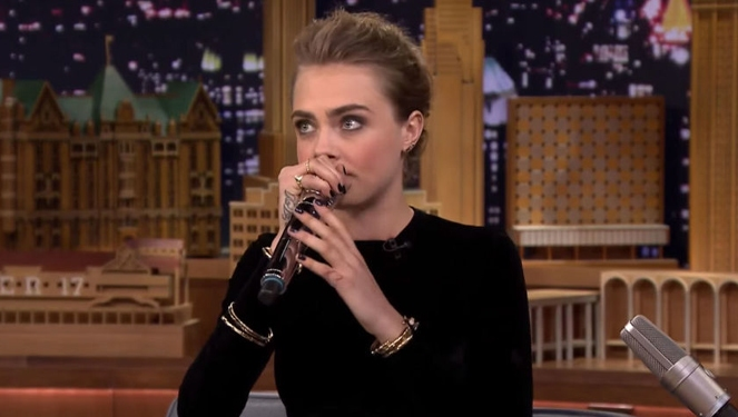 Watch: Cara Delevingne Beatboxing