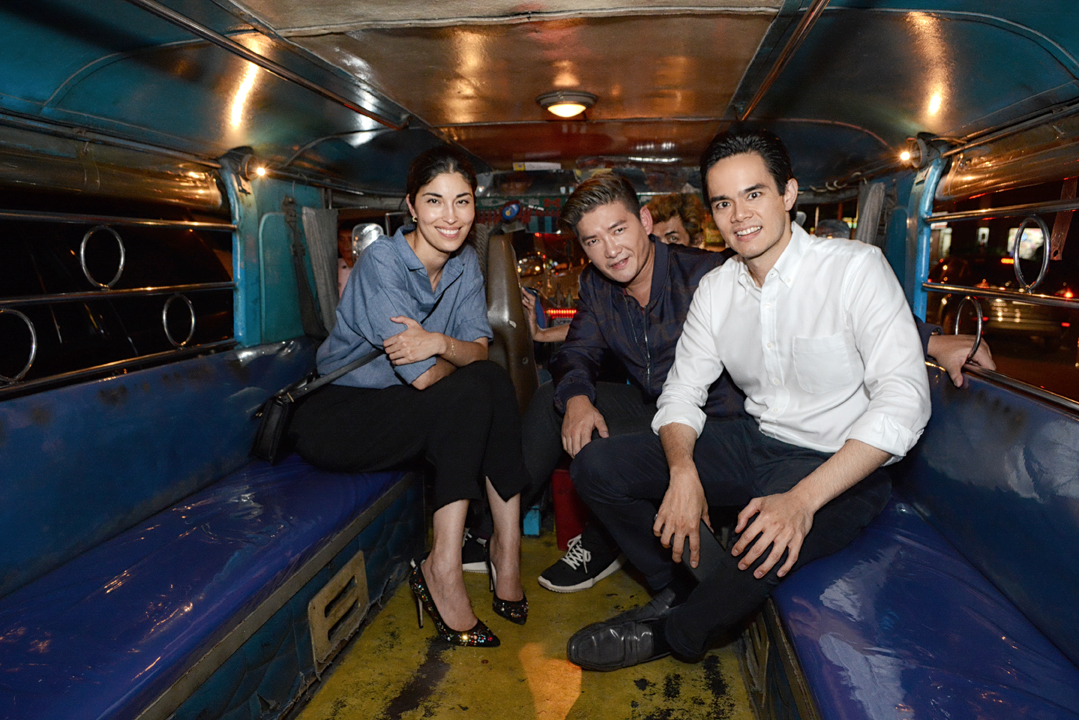 See Manila S Fashionphiles Partying Inside A Jeepney