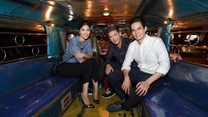 Manila's Finest Party Inside a Jeepney