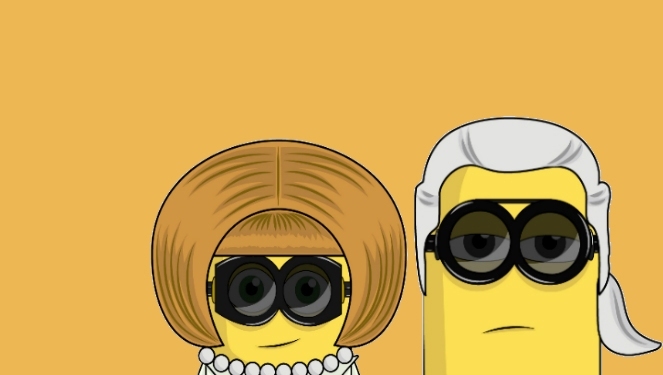 See: Alexa Chung, Anna Wintour And More As Minions
