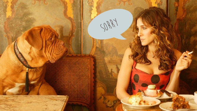How to Say Sorry to an Amiga at Lunch