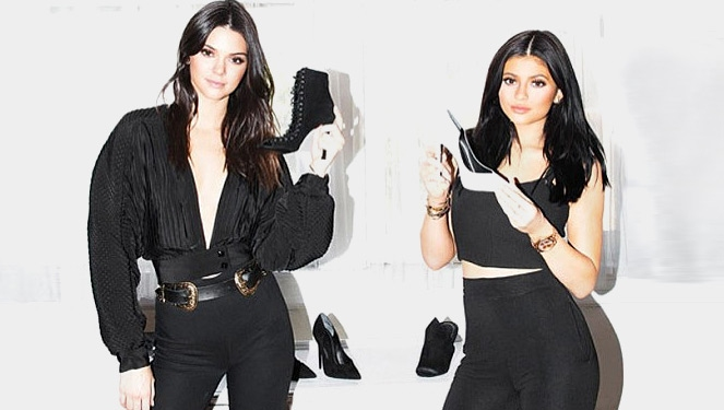 Kendall And Kylie Jenner Launch A Shoe Line
