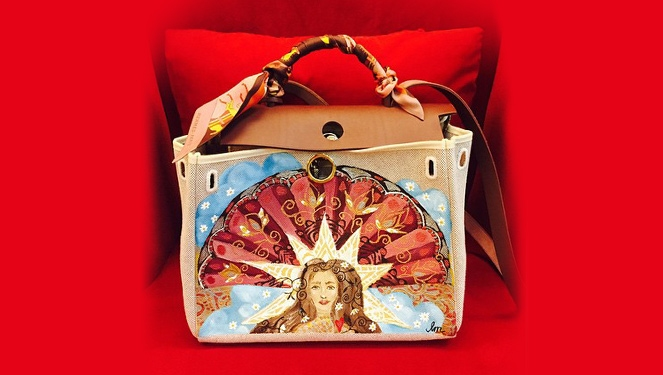 Heart Evangelista Paints Art on Her Hermès Bags