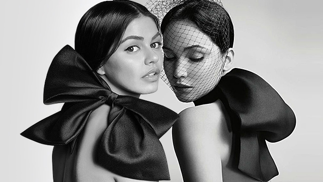 The Oversized Bow: Janine Gutierrez Vs Jennifer Lawrence