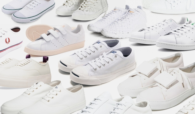21 Pairs That Every White Sneaker Addict Must Own