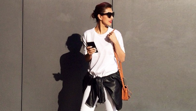 8 Celebrity-approved Ways To Wear Your Plain White T-shirt