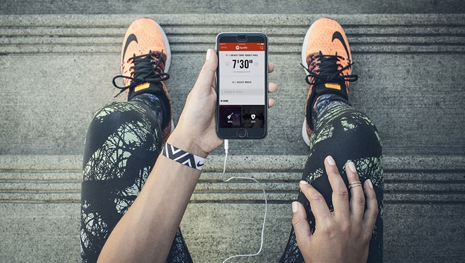 Nike+ Running Partners With Spotify