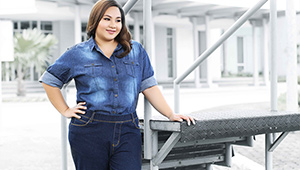 Cebuanas Model The Latest Denim Trend