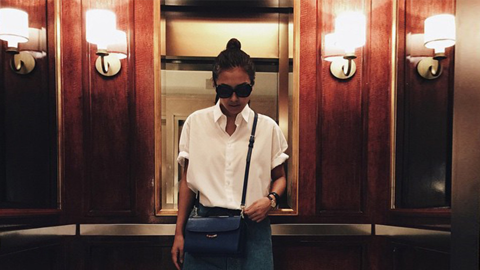 10 Celebrity Fashion Moments in Elevators