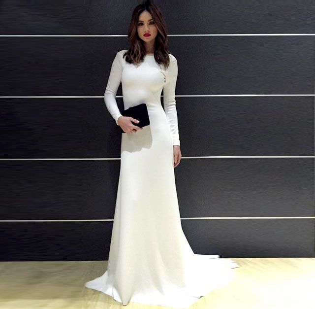 Coleen Garcia Looked Fab In âconservative White Dress