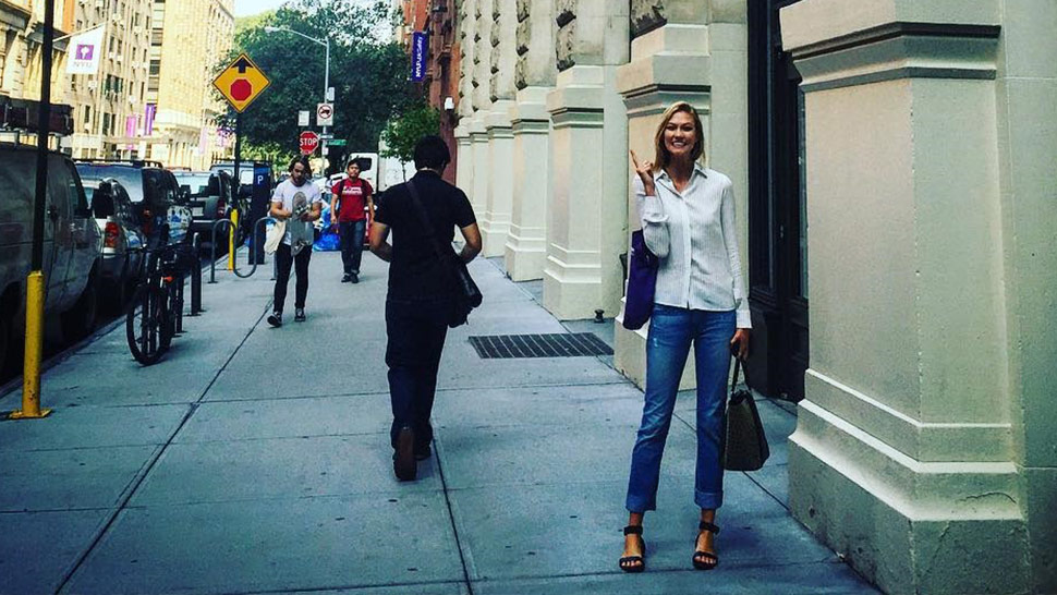 Karlie Kloss' First Day Of School Outfit Is Flawless