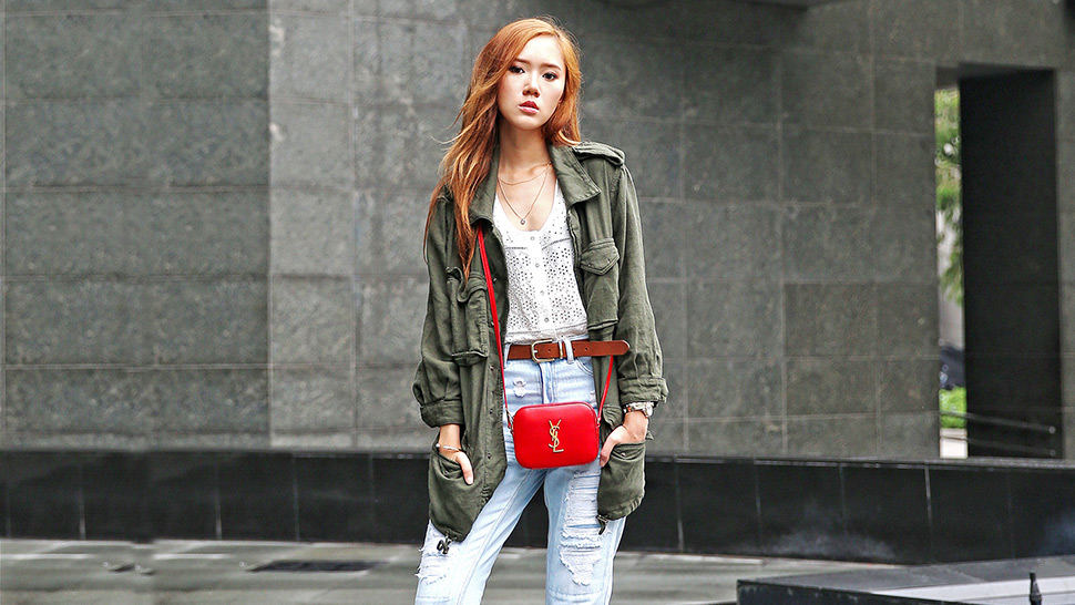5 Bloggers Make the Case for Distressed Denim This Week