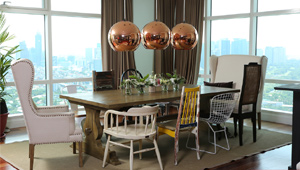 Check Out The Mismatched Chairs In Anne Curtis' Dining Room