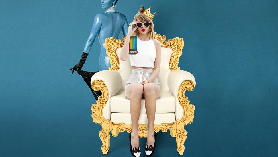Taylor Swift Dethrones Kim Kardashian as IG's Most Followed Celebrity