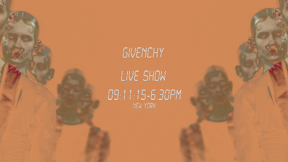 New York Fashion Week Live Streaming: Givenchy Spring/Summer 2016