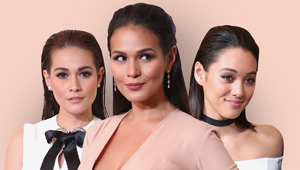 3 Celebs Who Rocked The Slicked Back Hairstyle At The 9th Star Magic Ball