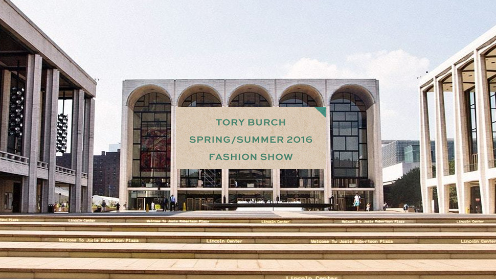 New York Fashion Week Live Streaming: Tory Burch Spring/Summer 2016