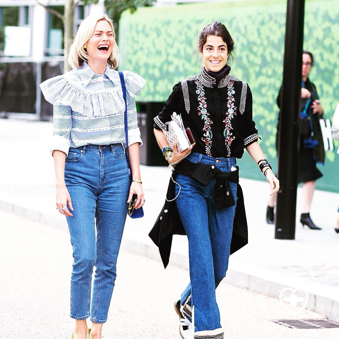 The Best Street Style Looks From New York And London Fashion Week Preview