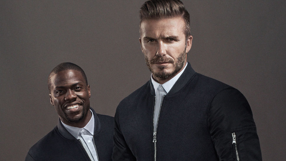 Kevin Hart Imitates David Beckham in H&M's New Campaign