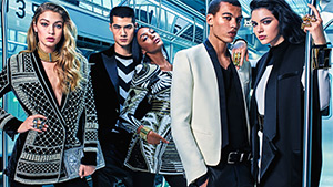 Kendall Jenner, Gigi Hadid And Jourdan Dunn Star In The New H&m X Balmain Campaign