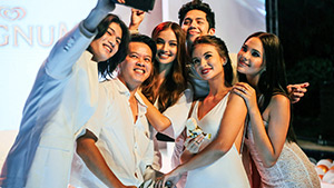 Georgina Wilson, Kelsey Merritt And More At The Magnum White Party