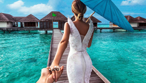 This Couple Traveled The World, Took Photos, And Got Married