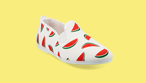 10 Printed Slip-on Sneakers We're Mad About
